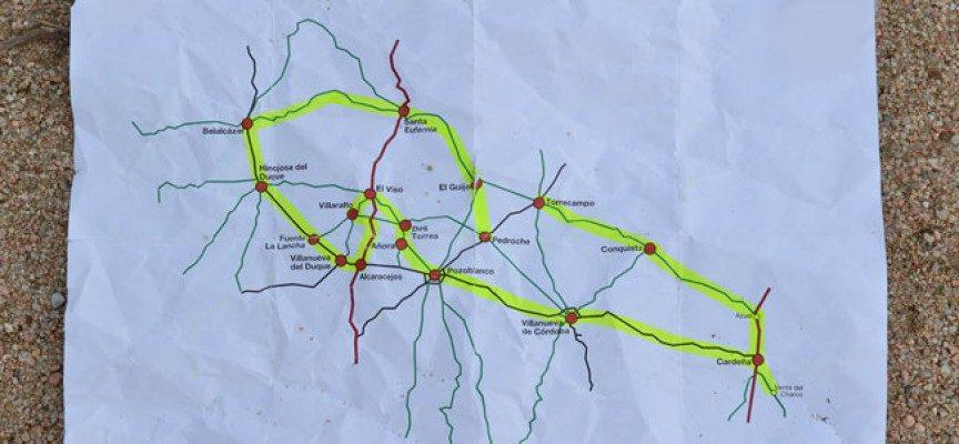 Esta mañana hemos recorrido los 17 pueblos de Los Pedroches