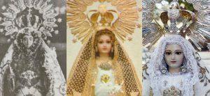 Las imágenes de la Virgen de Piedrasantas